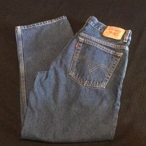Levi's 550 Relaxed Fit 10 Husky